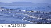 Купить «Прибой во время прилива», фото № 2343133, снято 10 сентября 2010 г. (c) Пьянков Александр / Фотобанк Лори