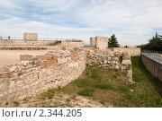 Развалины замка в Бургосе (2009 год). Стоковое фото, фотограф Elena Monakhova / Фотобанк Лори