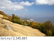 Гора Демерджи. Крым (2010 год). Стоковое фото, фотограф Олег Титов / Фотобанк Лори