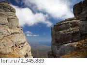 Гора Демерджи, вершина. Крым (2010 год). Стоковое фото, фотограф Олег Титов / Фотобанк Лори