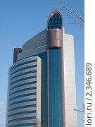 Купить «Здание банка в Уфе», фото № 2346689, снято 12 февраля 2011 г. (c) Михаил Валеев / Фотобанк Лори