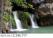 Купить «Водопад Атыш», фото № 2346717, снято 5 июня 2010 г. (c) Михаил Валеев / Фотобанк Лори