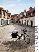 Улицы города Брюгге, Бельгия (2010 год). Стоковое фото, фотограф Алексей Кузнецов / Фотобанк Лори