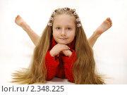 Веселое детство. Стоковое фото, фотограф Андрей Манейло / Фотобанк Лори