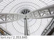 Металлическая конструкция. Стоковое фото, фотограф Камалетдинов Ринат Хусаенович / Фотобанк Лори