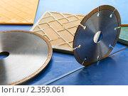 Алмазные диски для резки строительных материалов. Стоковое фото, фотограф Куликов Константин / Фотобанк Лори