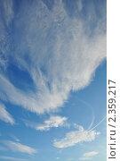 Зимнее небо с облаками. Стоковое фото, фотограф Абушкина Мария / Фотобанк Лори