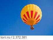 Полет на воздушном шаре. Стоковое фото, фотограф Николай Федорин / Фотобанк Лори
