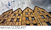 Купить «Фахверковые дома», фото № 2372417, снято 1 июля 2010 г. (c) Артём Сапегин / Фотобанк Лори