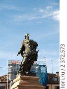 Купить «Памятник Карлу III на Пласа-Майор в Бургосе», фото № 2372573, снято 27 июня 2009 г. (c) Elena Monakhova / Фотобанк Лори