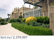 Воронцовский дворец летом (2009 год). Редакционное фото, фотограф Ольга Дудина / Фотобанк Лори