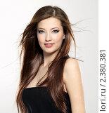 Портрет длинноволосой девушки. Стоковое фото, фотограф Валуа Виталий / Фотобанк Лори