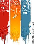 Купить «Набор баннеров с цветами», иллюстрация № 2381173 (c) Алексей Тельнов / Фотобанк Лори