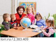Купить «Детский сад», фото № 2383409, снято 24 февраля 2011 г. (c) Майя Крученкова / Фотобанк Лори