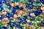 Фон из разноцветных стеклянных шариков, фото № 2385913, снято 5 марта 2011 г. (c) Наталья Волкова / Фотобанк Лори