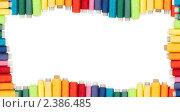 Разноцветные катушки ниток. Стоковое фото, фотограф Типляшина Евгения / Фотобанк Лори