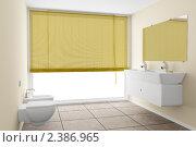 Купить «Интерьер современной ванной комнаты», иллюстрация № 2386965 (c) Максим Бондарчук / Фотобанк Лори