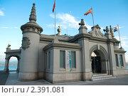 Купить «Паласете-дель-Эмбаркадеро в Сантандере», фото № 2391081, снято 30 июня 2009 г. (c) Elena Monakhova / Фотобанк Лори