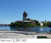 Средневековый замок  г. Выборг (2010 год). Редакционное фото, фотограф Клычникова  Наталья / Фотобанк Лори