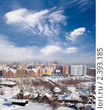 Купить «Зимний город», фото № 2393185, снято 8 августа 2008 г. (c) Георгий Shpade / Фотобанк Лори