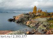 Берег одного из островов около Хельсинки, Финляндия (2009 год). Стоковое фото, фотограф Михаил Марковский / Фотобанк Лори