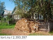 Купить «Деревня», эксклюзивное фото № 2393397, снято 31 октября 2008 г. (c) Татьяна Белова / Фотобанк Лори
