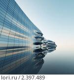 Купить «Архитектурная абстракция», иллюстрация № 2397489 (c) Юрий Бельмесов / Фотобанк Лори
