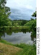 Купить «Озеро», фото № 2398405, снято 13 июня 2009 г. (c) Коваль Максим / Фотобанк Лори