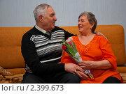 Счастливые пенсионеры. Стоковое фото, фотограф Куликова Вероника / Фотобанк Лори