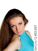 Портрет девушки. Стоковое фото, фотограф Черников Роман / Фотобанк Лори