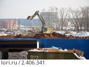 Стройка (2011 год). Редакционное фото, фотограф Иван Носов / Фотобанк Лори