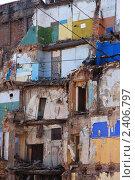 Разрушенный дом. Питер. Стоковое фото, фотограф Татьяна Четвертакова / Фотобанк Лори