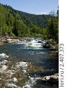 Купить «Река», фото № 2407373, снято 3 июля 2009 г. (c) Юрий Караваев / Фотобанк Лори