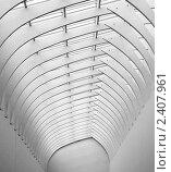 Асимметричный рисунок из арок. Стоковое фото, фотограф Roman Firsov / Фотобанк Лори