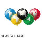 Олимпийский символ. Стоковое фото, фотограф Дмитрий Куома / Фотобанк Лори