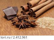 Ингредиенты. Натюрморт в коричневых тонах. Стоковое фото, фотограф Марина Антонова / Фотобанк Лори