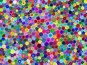 Абстрактный фон из разноцветных кругов разных оттенков, иллюстрация № 2414909 (c) Татьяна Васина / Фотобанк Лори