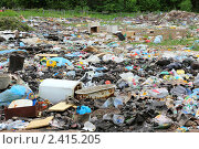 Самовольная свалка мусора (2010 год). Редакционное фото, фотограф Михаил Коханчиков / Фотобанк Лори