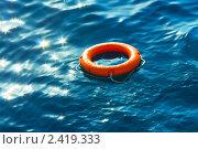 Спасательный круг в Красном море. Стоковое фото, фотограф ElenArt / Фотобанк Лори