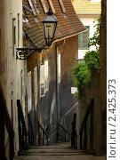 Старая лестница (2009 год). Стоковое фото, фотограф Сергей Волков / Фотобанк Лори