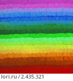 Купить «Разноцветный фон в цветах радуги», иллюстрация № 2435321 (c) Татьяна Васина / Фотобанк Лори