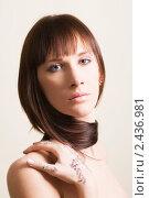 Купить «Портрет красивой женщины», фото № 2436981, снято 6 марта 2011 г. (c) Egorius / Фотобанк Лори