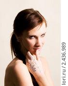 Купить «Портрет красивой женщины», фото № 2436989, снято 6 марта 2011 г. (c) Egorius / Фотобанк Лори