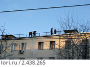 Авиамоторная улица и окрестности (2011 год). Редакционное фото, фотограф Петр Бюнау / Фотобанк Лори