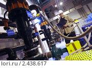 Купить «Газотурбинная теплоэлектроцентраль», фото № 2438617, снято 24 марта 2011 г. (c) Виктор Филиппович Погонцев / Фотобанк Лори