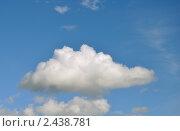 Облако. Стоковое фото, фотограф Беляева Елена / Фотобанк Лори
