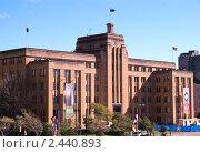 Купить «Здание музея современного искусства в Сиднее», фото № 2440893, снято 17 августа 2010 г. (c) Elena Monakhova / Фотобанк Лори