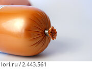 Купить «Колбаса вареная», фото № 2443561, снято 17 марта 2011 г. (c) Павлова Татьяна / Фотобанк Лори
