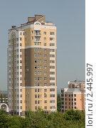 Купить «Жилой дом в Уфе», фото № 2445997, снято 25 июня 2008 г. (c) Михаил Валеев / Фотобанк Лори