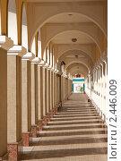 Купить «Колоннада», фото № 2446009, снято 3 июля 2008 г. (c) Михаил Валеев / Фотобанк Лори